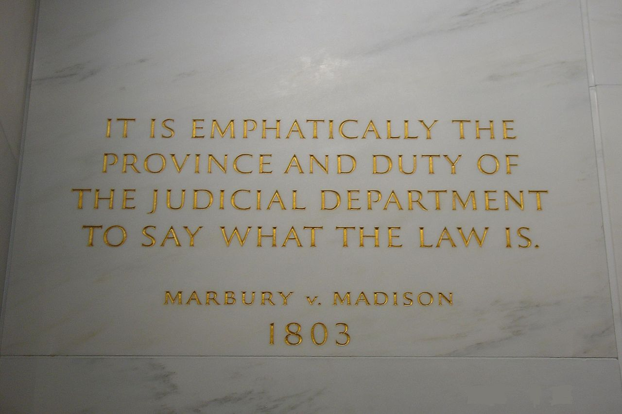 An Old Controversy: Marshall, Whitaker, and Marbury V. Madison